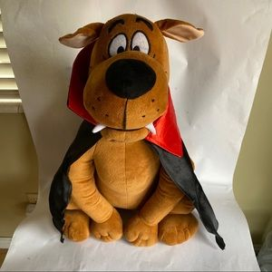 """VAMPIRE SCOOBY-DOO Large 22"""" Plush  Cape and Fangs"""